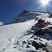 Blick vom Furggji auf das Platthorn