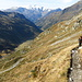 Blick durchs Valle di Carassino