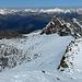 Die Route ist gut erkennbar, vor allem der Abstand zum Grauhorn