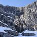 die Nordabstürze der Spritzkarspitze im Bereich des Kirchls
