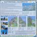 Ebenfalls bei der Bergstation: ein Plakat mit umfangreichen Informationen zu den Steigen.