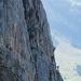 Zwei Klettersteiggeher auf der Zittergrat Route