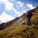 Verso la fine del Sentiero Gatti si sale sulla dorsale del Monte della Brenva.