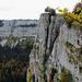 Eine beeindruckende Felswand.