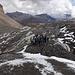 Zuhören an der Gletscherzunge