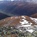 Descente de la crête W du Vorder Berg.