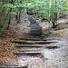 über viele Treppen