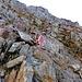 Facile arrampicata tra rocce