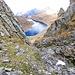 Il canale che ho percorso, fare attenzione, rocce instabili