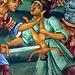 Sehenswert sind vor allem die vielen Wand- und Deckengemälde, die diverse Szenen aus der Bibel ausgesprochen bildlich darstellen.<br />