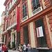 Palazzo Rosso al 18 di via Garibaldi, è un edificio barocco costruito fra il 1671 ed il 1677. Prende il nome dal colore della facciata ed è sede della Galleria di Palazzo Rosso che ospita diversi capolavori fra cui vanno ricordati almeno la Giuditta di Veronese, la Sacra Conversazione di Tiziano, un Ecce Homo di Caravaggio, una serie di ritratti di patrizi genovesi di Van Dijk ed un ritratto di Giovane di Albrech Dürer.