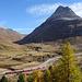 Bernina-Bahn zwischen der Station Suot und Diavolezza, mit Blick ins Val da Fain