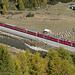 rot und gelber ÖV in der Schweiz :-)