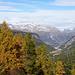 Blick ins Tal mit Pontresina