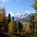 Aussichtspunkt Chapütschöl - leider ein wenig im Wald