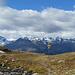 Blick vom Lej Languard zu den St. Moritzer Bergen von Piz Julier (links) bis Piz Ot (rechts).