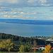 Panorama über fast den ganzen Bodensee