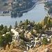Blick hinunter zum Turracher See