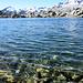 Lago mit kristallklarem Wasser