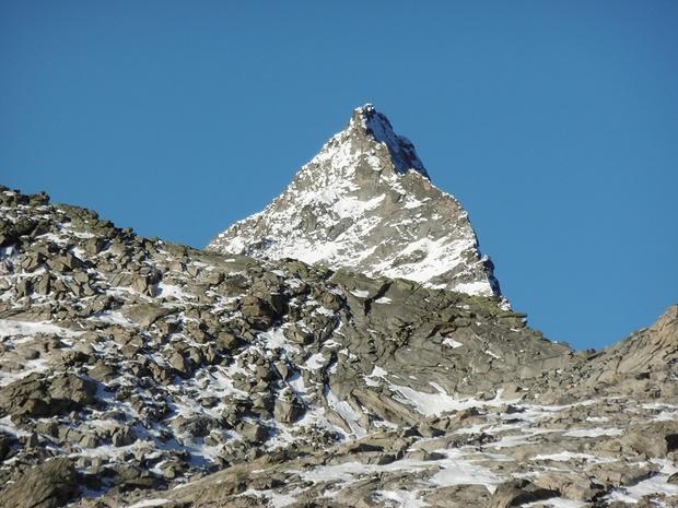 Erinnert mich ans Matterhorn!