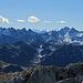die Aussicht vom Gipfel der Wiss Platte, Madrisahorn