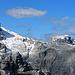 die Aussicht vom Gipfel der Wiss Platte, Sulzfluh, Drusenfluh, Drei Türme