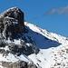 die Aussicht vom Gipfel der Wiss Platte, Sulzfluh im Zoom