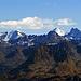 die Aussicht vom Gipfel der Wiss Platte