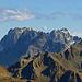 die Aussicht vom Gipfel der Wiss Platte, - Scheibler, Kuchen- und Küchlspitze im Verwall