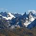 Zoom auf den Gross Litzner und das Gross Seehorn, Silvrettagebiet