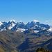 Weitsicht in das Silvrettagebirge