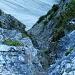 Grasdurchsetzte Kletterei