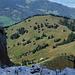 View to the next peak - Brüschstockbügel.