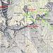 Poco dopo Bargo e poco prima della grande erosione ecco il tracciato che, più o meno, ho seguito.<br /><br />Linea verde il tracciato di salita...<br />Linea gialla il tracciato di discesa dall' USCIOLO fino ad incontrare il sentiero fatto all' andata...<br /><br />*** Per vedere l' immagine ingrandita e nelle sue dimensioni reali, cliccare a destra... ***<br /><br />P.S. sulle differenze altimetriche riscontrate consultando varie cartine delle seguenti cime:<br />SASSO ACUTO: 1985 mt. / 2002 mt.<br />PIC DE STAVEL:  2188 mt. / 2192 mt.<br />SASSO CAMOSCE':  2203 mt. / 2207 mt.<br />
