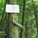 Hier schließt sich der Kreis. Achtung: beim Aufstieg übers Vordere Kraxenbachtal hier nach rechts abbiegen.