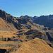 der Weg zum Graustein, von hier aus gesehen eher Braunstein