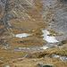 Steiler Abstieg zu den zwei nächsten Seen