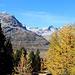 Goldener Herbst im Oberengadin