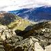 Panoramica verso la Valle Leventina, sullo sfondo la Val d'Ambra