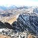 Blick zum weiteren Gratverlauf - gleich auf der Aleitenspitze