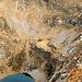 Forcarella di lago e sentiero che scende nella Valle di S.Petronilla (Biasca)