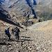 die Abstiegsroute Nr. 31 führt direkt zur Zufallhütte