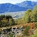Monti di Boscarolo : vista sul Piano di Magadino