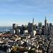San Francisco, du haut de la Coit Tower (oui, elle s'appelle vraiment comme ça...)
