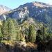 in salita lungo il sentiero naturalistico del Lucomagno: autunno colorato...