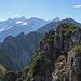 Aussicht vom Schillerkopf, Schesaplana, Panüelerkopf