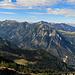 Blick auf die Westseite bis zum Alpstein......