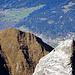 Das Dutjer Horn ist gut besucht, während der namenlose unkotierte wilde Felsturm rechts wohl schon sehr Ewigkeiten nicht mehr bestiegen wurde