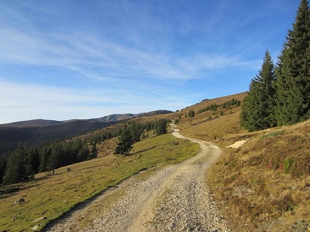Weg zur Grillitschhütte