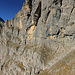 Die Ausmasse der gesamten Felswand sind gigantisch.